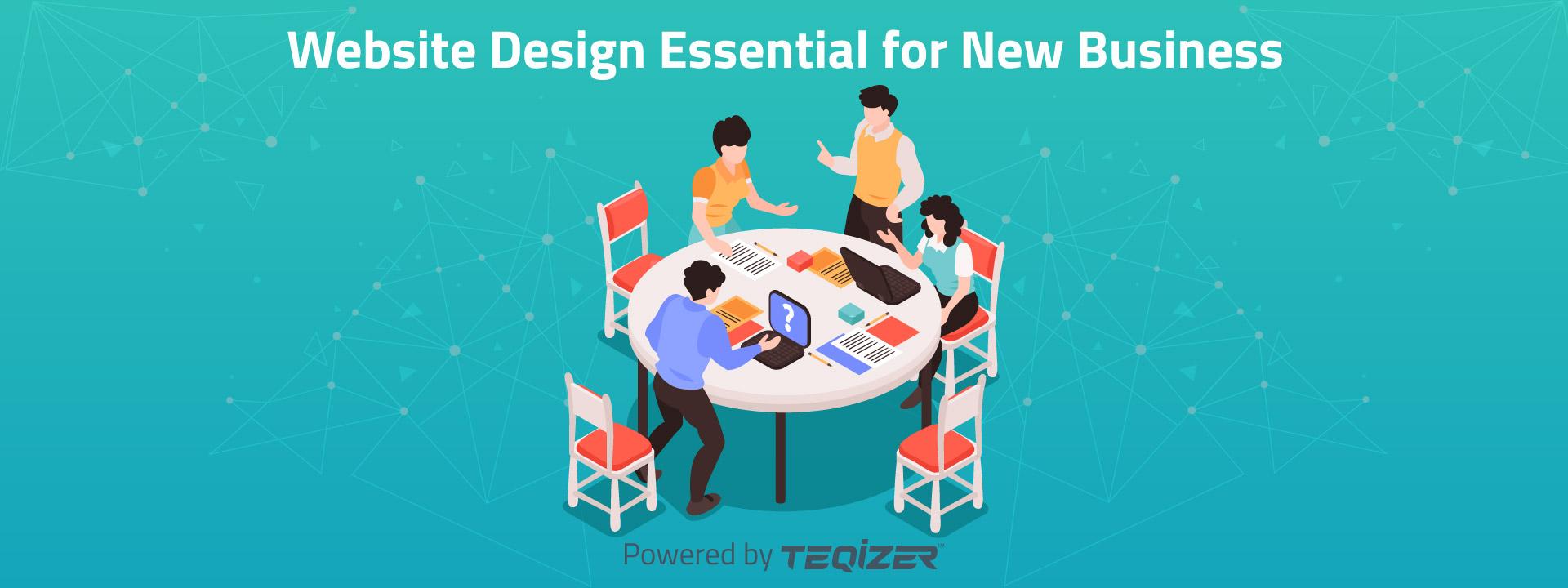 Website Design essential for New Business